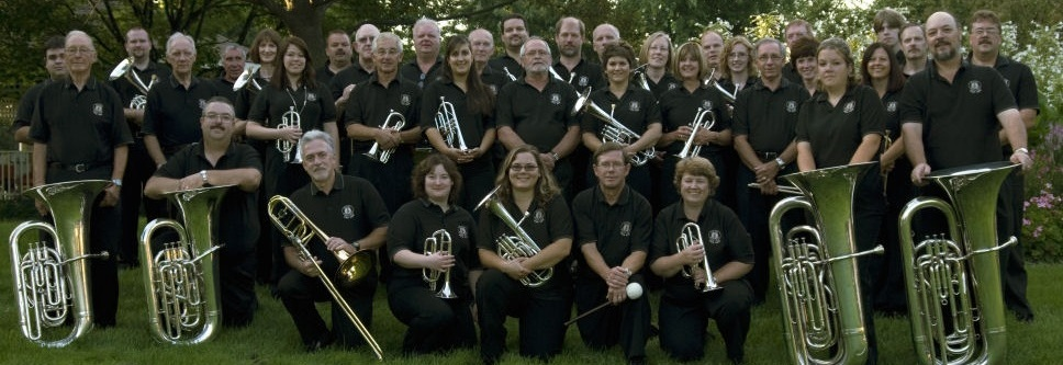 Whitby Brass Band group photo (2008)